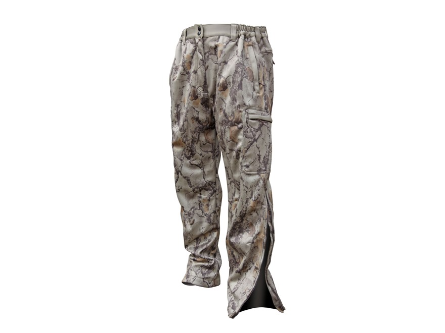 Natural Gear Men's Scent-Tek Scent Control Performance Softshell Pants Polyester Natura...