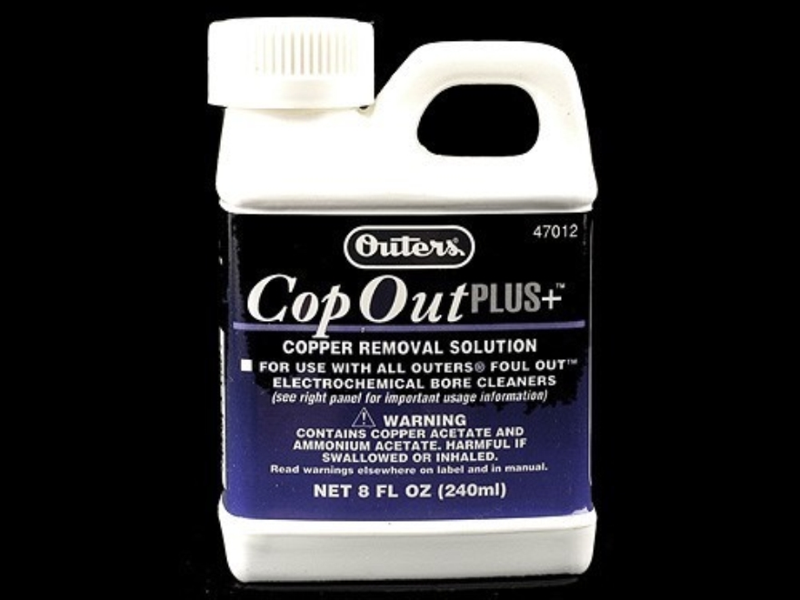 Outers Cop Out Plus For Foul Out Cleaning System 8 oz