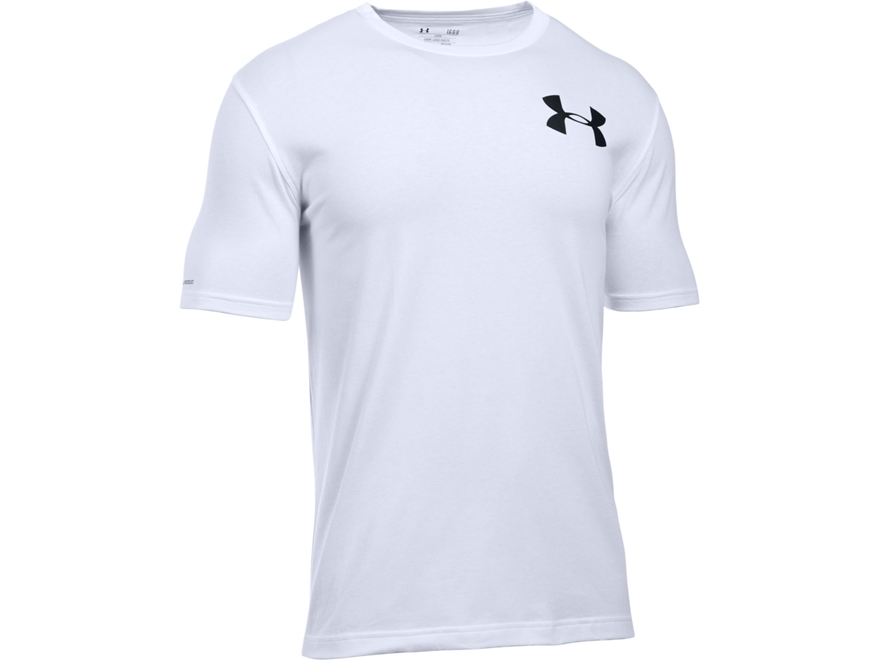 Under Armour Men's UA Whitetail Skull T-Shirt Short Sleeve Poly/Cotton Blend