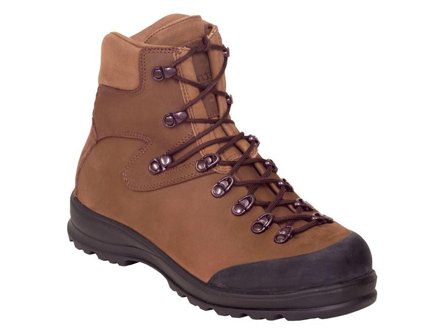 """Kenetrek Safari 7"""" Uninsulated Hunting Boots Leather Brown Men's"""