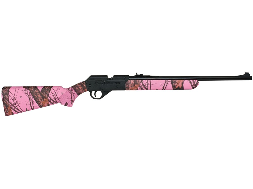 Daisy Powerline Model 35 Pump Air Rifle 177 Caliber BB and Pellet Pink Camo Polymer Sto...