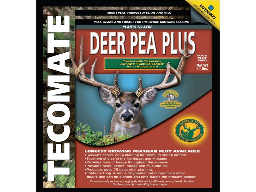 Tecomate Deer Pea Plus Annual Food Plot Seed