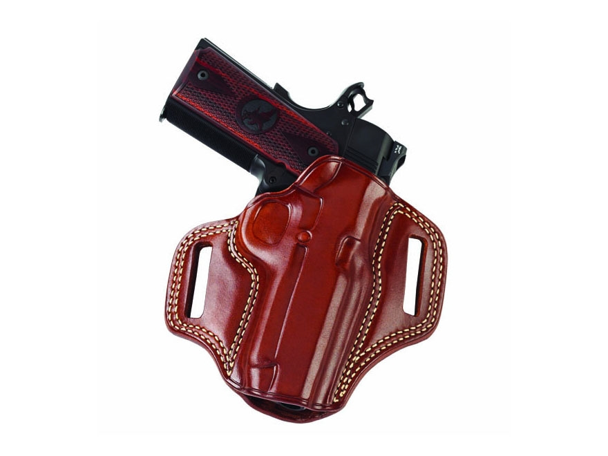 "Galco Combat Master Belt Holster Right Hand S&W 19, K-Frame 2-1/2"" Barrel Leather"