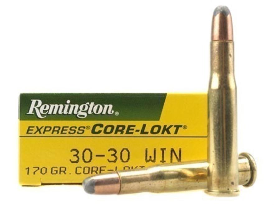 Remington Express Ammunition 30-30 Winchester 170 Grain Core-Lokt Soft Point Box of 20