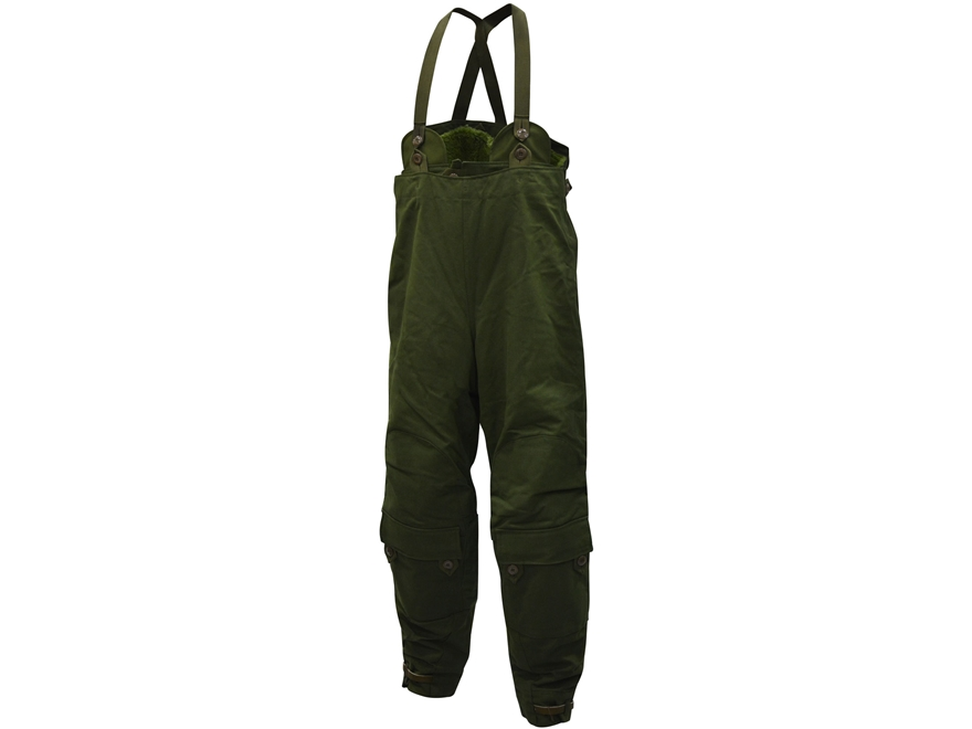 Military Surplus Swedish Motorcycle Pants Grade 2 Insulated Olive Drab Large
