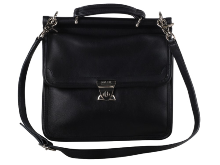 Galco Classic Conceal Carry Handbag Leather Black
