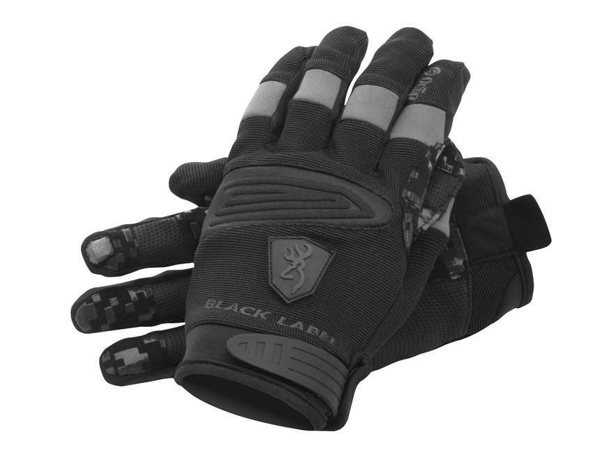 Browning Black Label HollowPoint Gloves Polyester/Neoprene Black