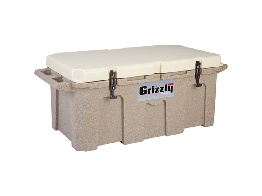 Grizzly 150 Qt Cooler with Molded Handles Polyethylene