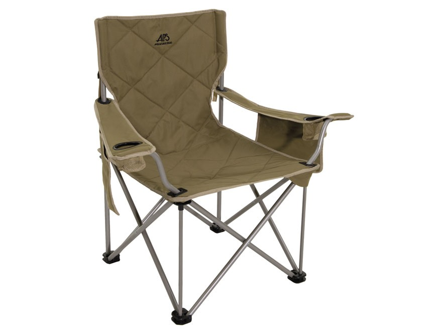 ALPS Mountaineering King Kong Folding Chair Steel and Polyester Khaki