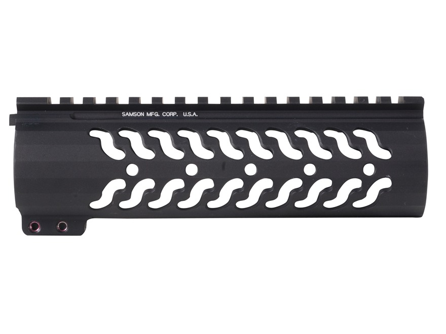Samson Evolution Series Customizable Free Float Handguard AR-15 Aluminum Matte