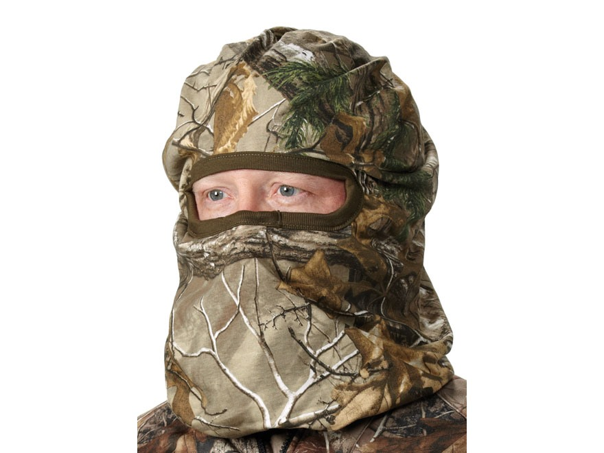 Hunter's Specialties Jersey Face Mask Cotton Realtree Xtra Green Camo