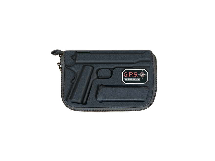 G.P.S. Custom Molded Pistol Case 1911 Black