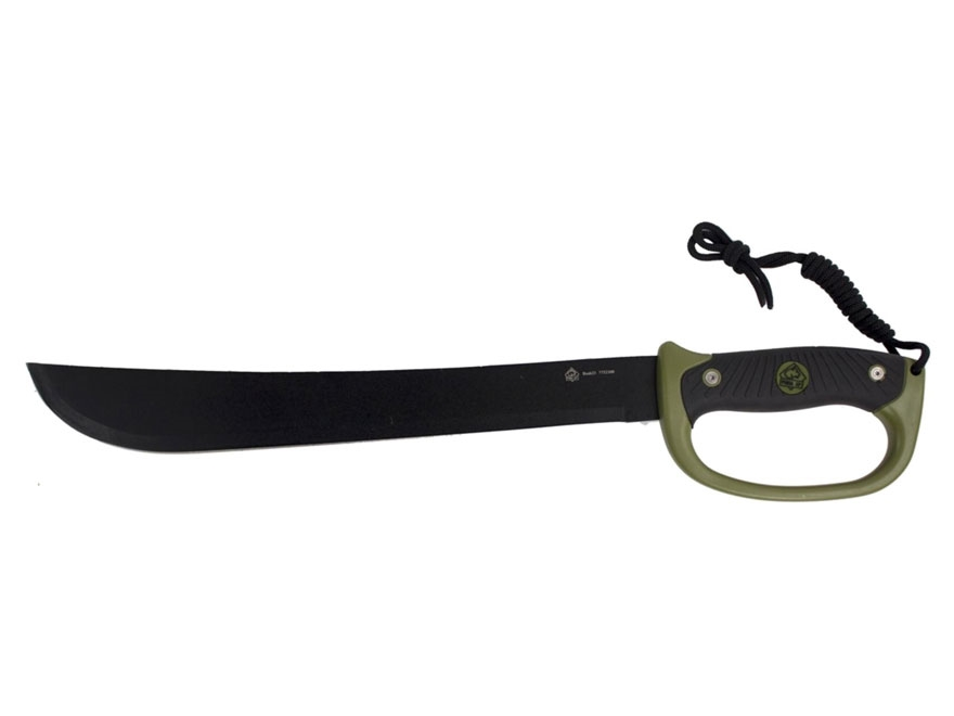 "Puma XP Bush 23 Machete 15.75"" Stainless Steel Blade Polymer and Rubber Handle Black"