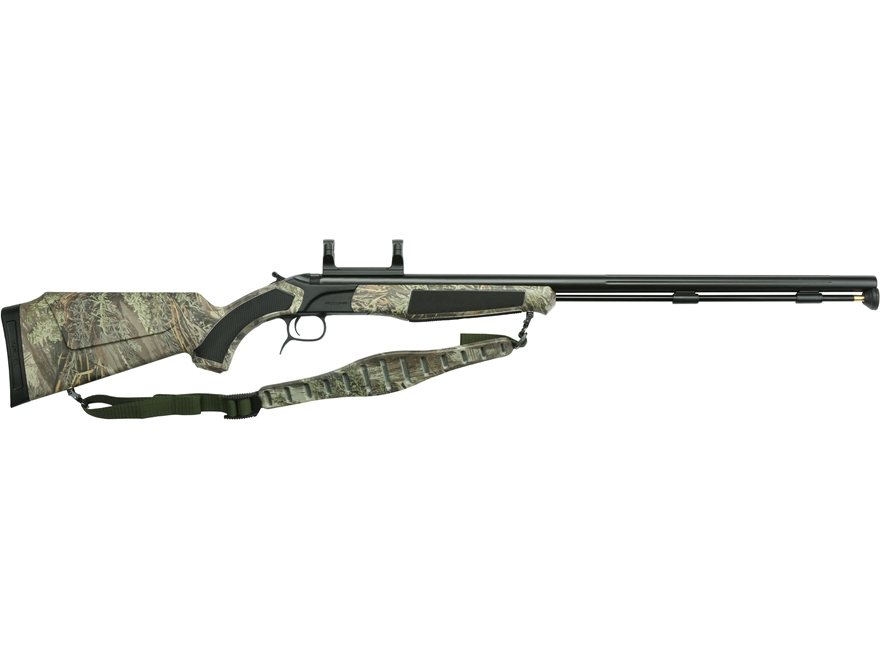 "CVA Accura PR Muzzleloading Rifle with Dead-On Scope Mount 50 Caliber 28"" Fluted Nitrid..."