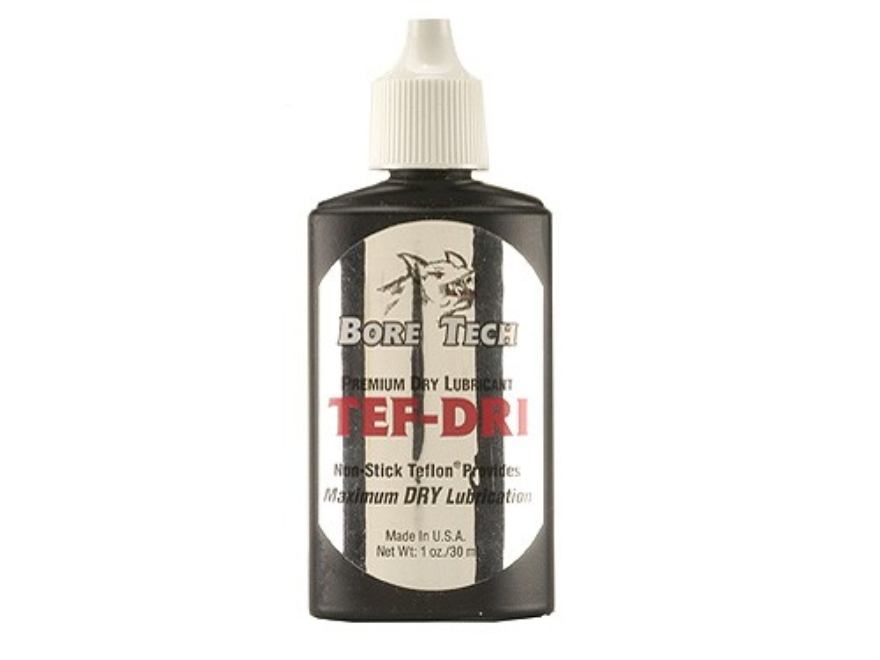 Bore Tech Tef Dri Dry Lubricant 1 oz Liquid