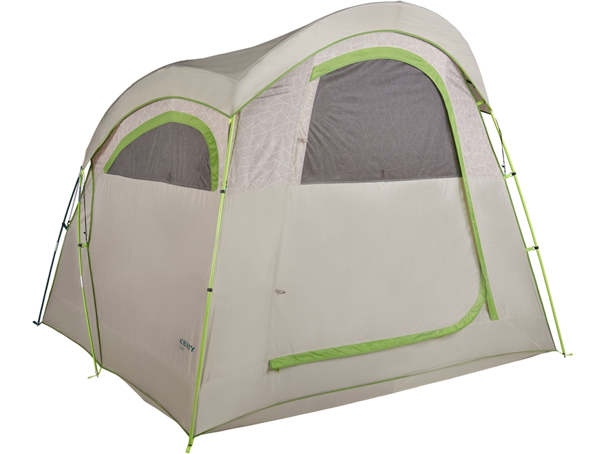 "Kelty Camp Cabin 4 Person Dome Tent 96"" x 105"" x 77"" Polyester Gray"
