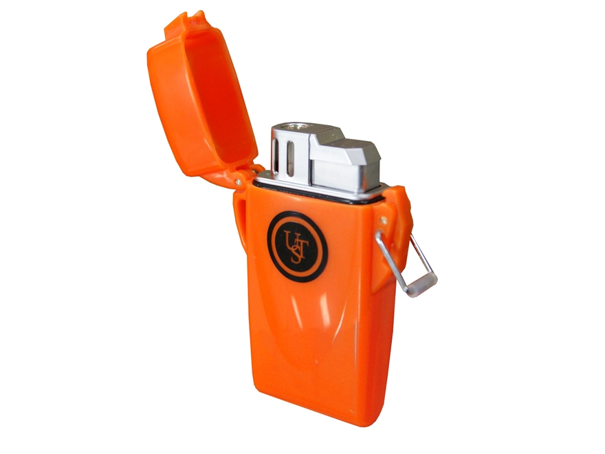 UST Floating Windproof Butane Lighter Orange