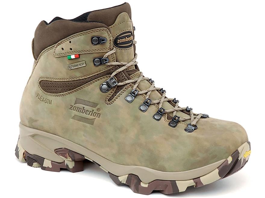 "Zamberlan Leopard Low GTX 6"" Waterproof Uninsulated Hunting Boots Leather"