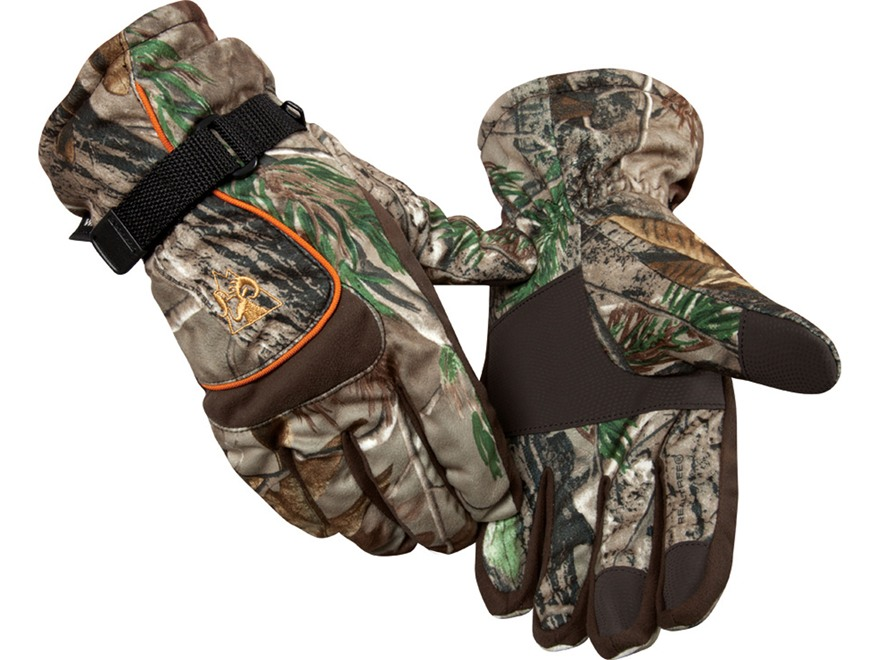 Rocky L3 Waterproof Insulated Gloves Polyester Realtree AP Camo Large