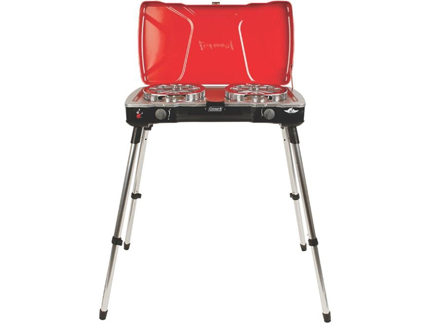 Coleman Fyrecaptain 2-Burner Propane Camp Stove
