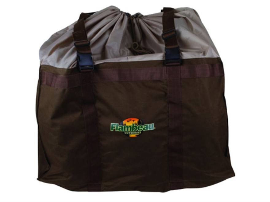 Flambeau 6-Slot Decoy Bag Nylon Olive Drab
