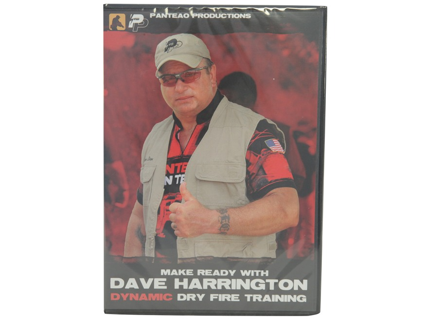 "Panteao ""Make Ready with Dave Harrington:  Dynamic Dry Fire Training"" DVD"