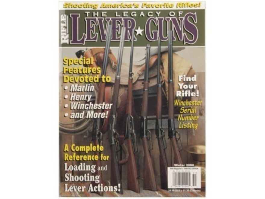"""The Legacy of Lever Guns"" Book by Wolfe Publishing Editors"