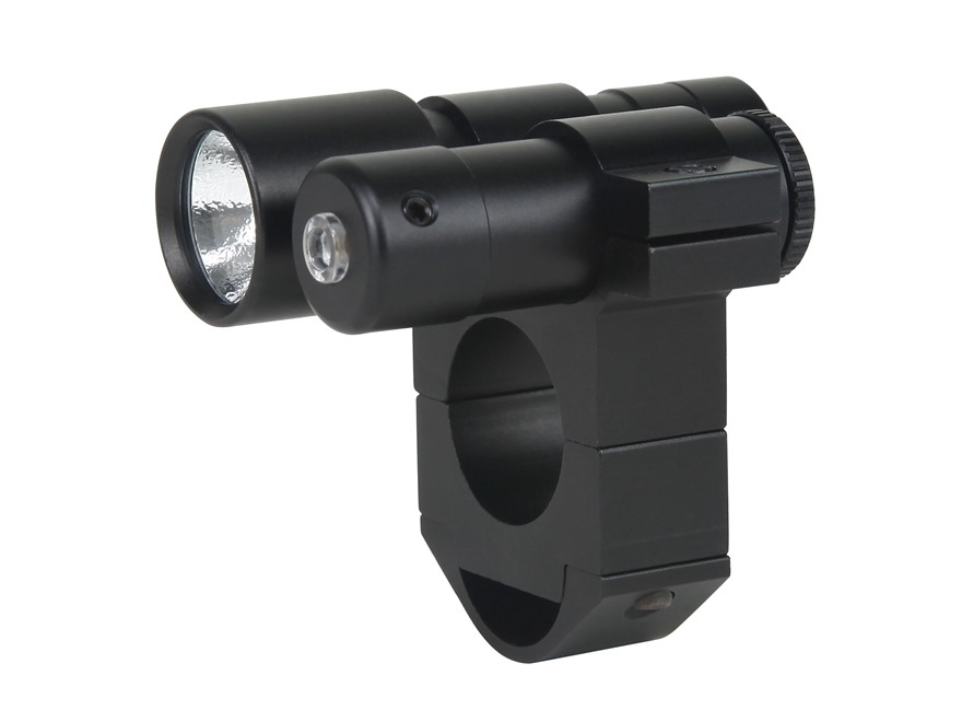 "Gamo Air Gun Red Laser Sight 650 and Flashlight Matte with 1"" Scope Mount"