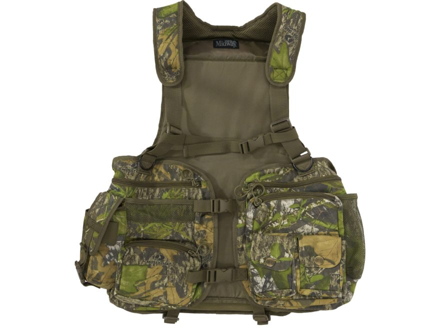 MidwayUSA Full Strut Turkey Vest Mossy Oak Obsession Camo
