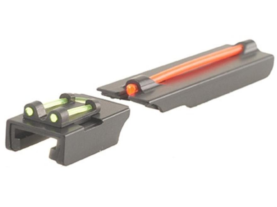 """TRUGLO Tru-Point Turkey Sight Set Fits Remington Shotgun with 1/4"""" Vent Rib Steel Fiber..."""