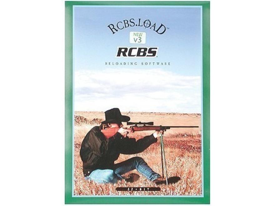 "RCBS CD-ROM ""Dot LOAD Ballistics Software Version 3.4"""