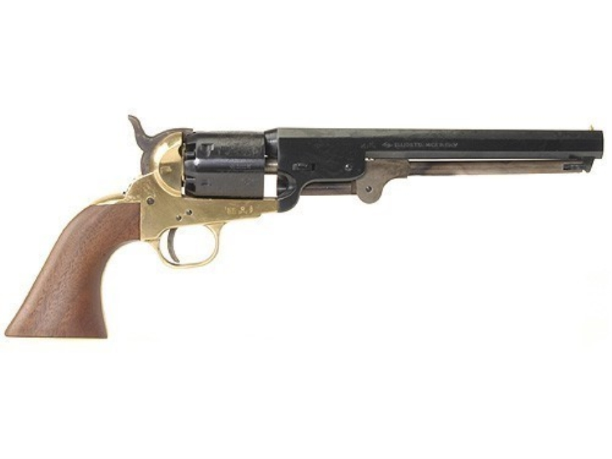 Pietta 1851 Navy Black Powder Revolver Brass Frame