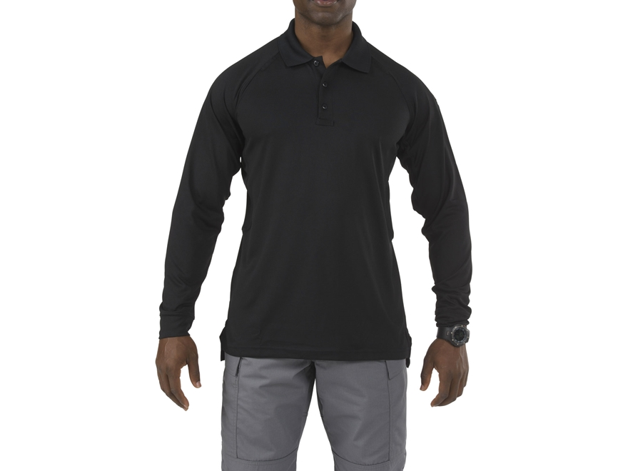 5.11 Men's Performance Polo Long Sleeve Polyester