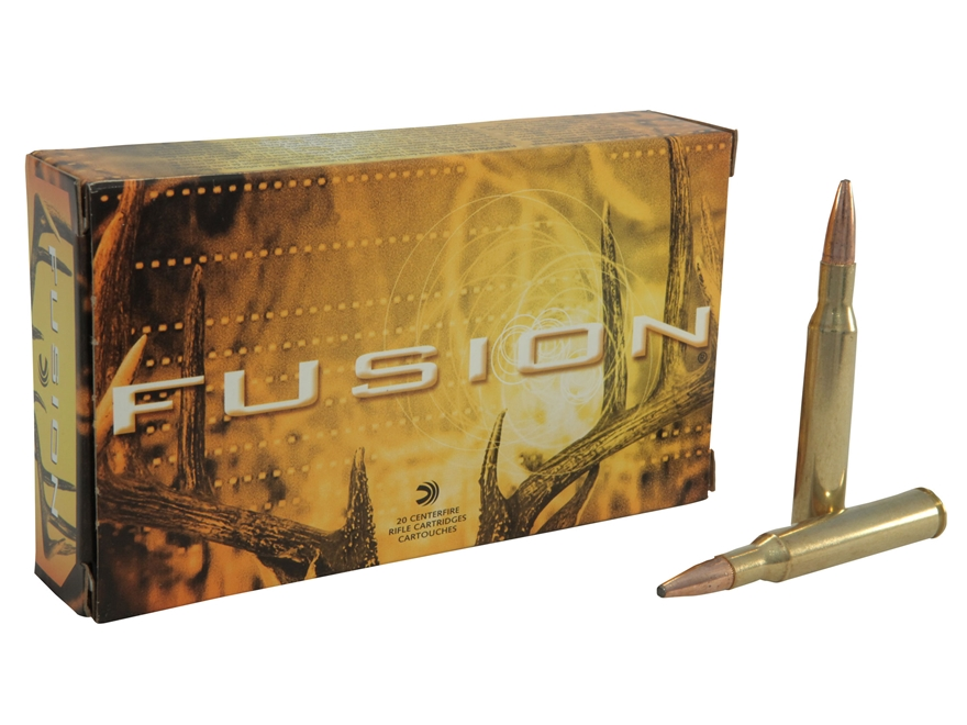 Federal Fusion Ammunition 270 Winchester 130 Grain Spitzer Boat Tail