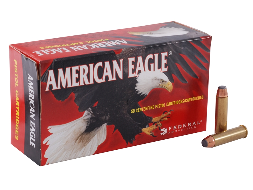 Federal American Eagle Ammunition 327 Federal Magnum 85 Grain Jacketed Soft Point Box o...