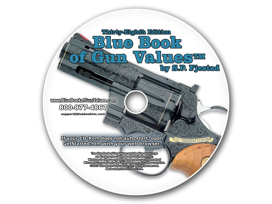 Blue Book of Gun Values 38th Edition CD-ROM by S.P. Fjestad