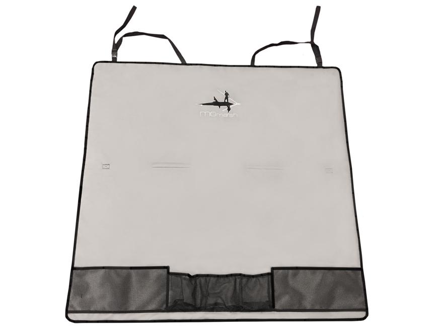 MOMarsh Back Seat Cover PVC Gray