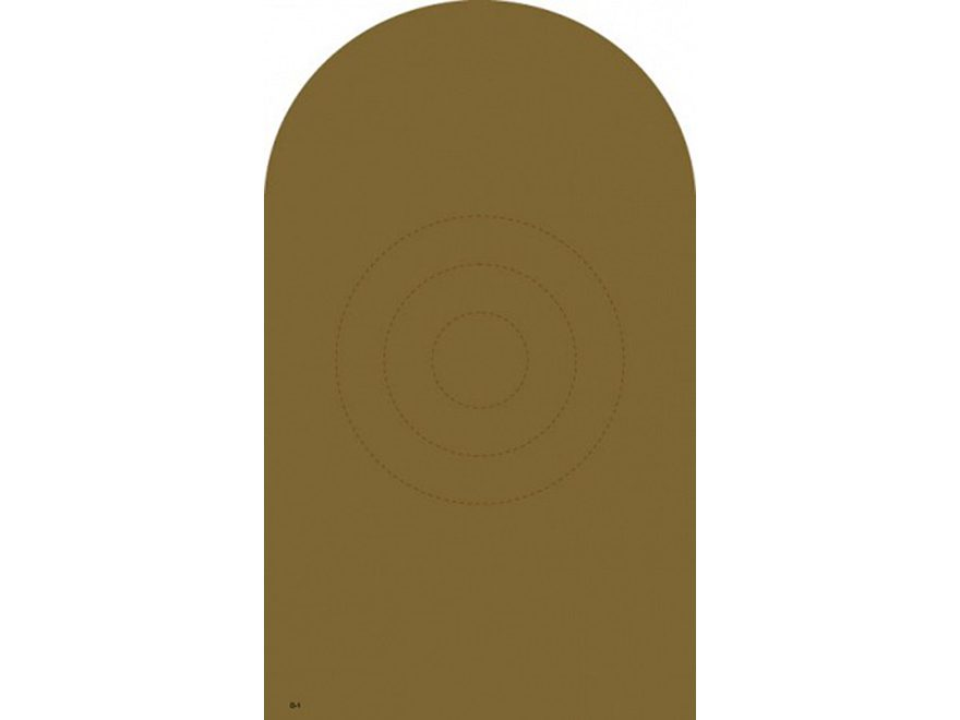 "NRA Official Bianchi Cup Targets D-1(CB) 18"" x 30"" Cardboard Package of 25"