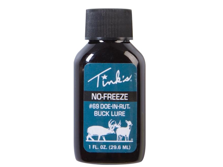 Tink's #69 Doe-in-Rut Buck Lure No Freeze Deer Scent Liquid 1 oz