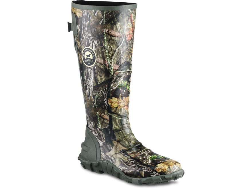 "Irish Setter Rutmaster 2.0 Lite 17"" Uninsulated Waterproof Hunting Boots Men's"