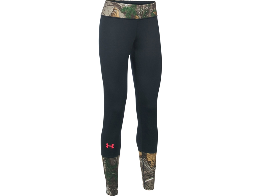 Under Armour Women's UA Tevo ColdGear Infrared Scent Control Base Layer Pants Polyester...