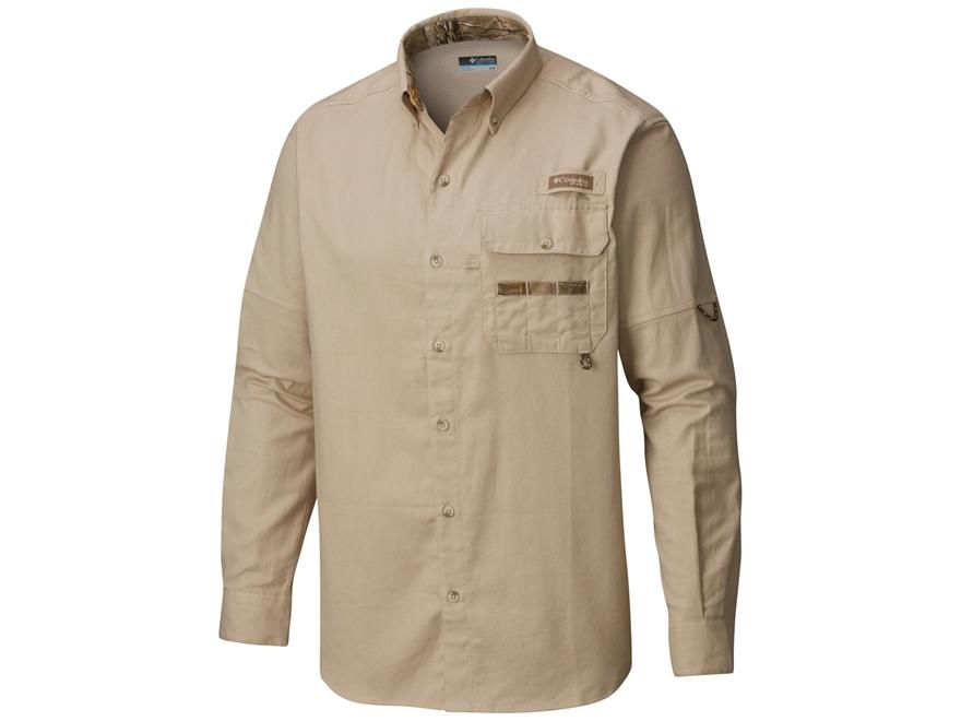 Columbia Men's Sharptail Flannel Shirt Long Sleeve Cotton