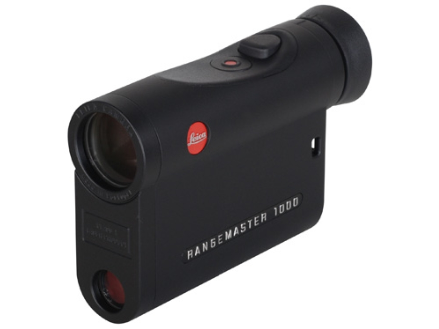 Leica CRF Rangemaster 1000 Yards Scan Mode Laser Rangefinder 7x Black