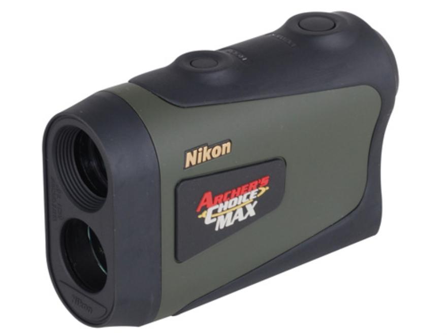 Nikon Archers Choice MAX Laser Rangefinder 6x Green