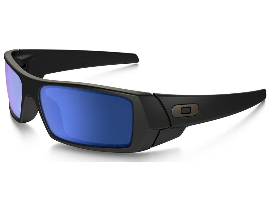 Oakley Gascan Polarized Sunglasses Matte Black Frame/Ice Iridium Lens