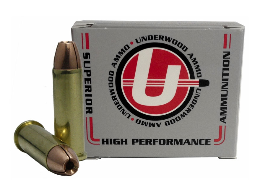 Underwood Ammunition 38 Special +P 105 Grain Lehigh Controlled Fracturing Hollow Point ...