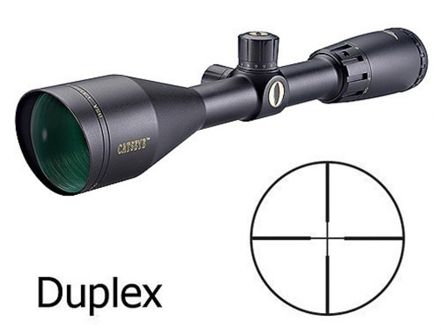 BSA Catseye Rifle Scope 3.5-10x 50mm Duplex Reticle Matte