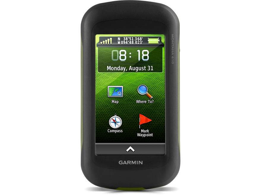 Garmin Montana 610 Handheld GPS Unit