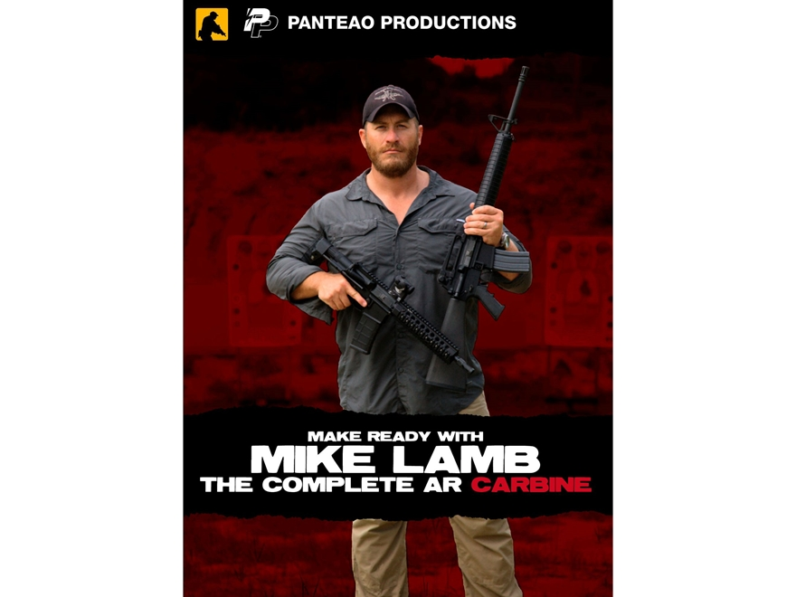 """Panteao """"Make Ready with Mike Lamb: The Complete AR Carbine"""" DVD"""