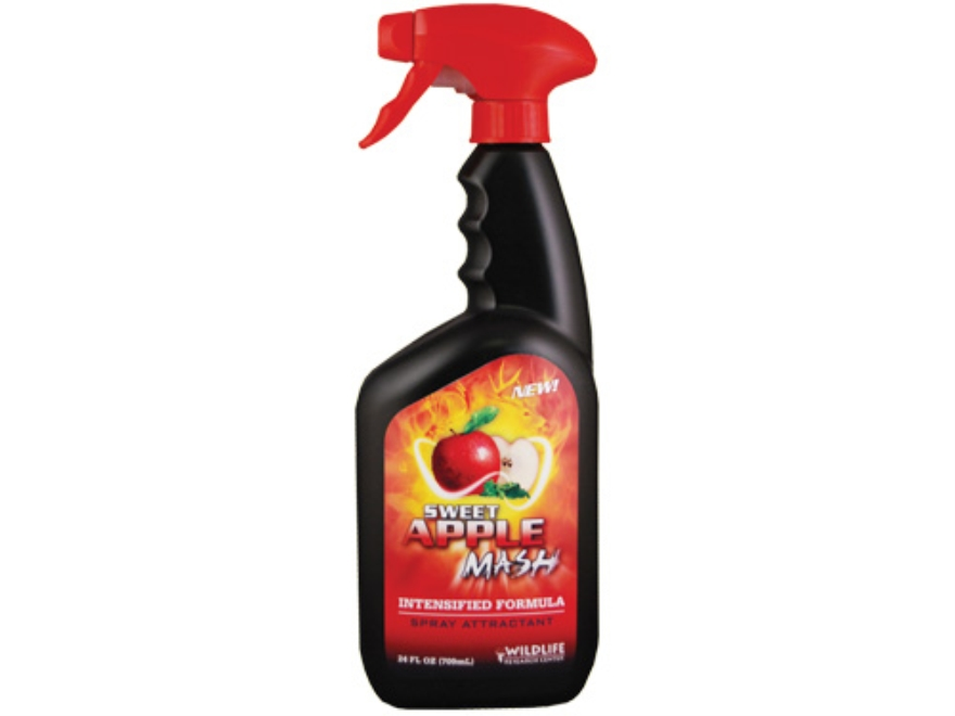 Wildlife Research Sweet Apple Mash Deer Attractant Spray 24 oz